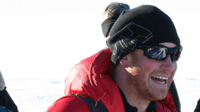 Prince Harry, Trek Teams Reach the South Pole