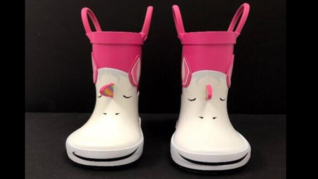 Toddler Rainboots Recalled by Target Over Choking Hazard