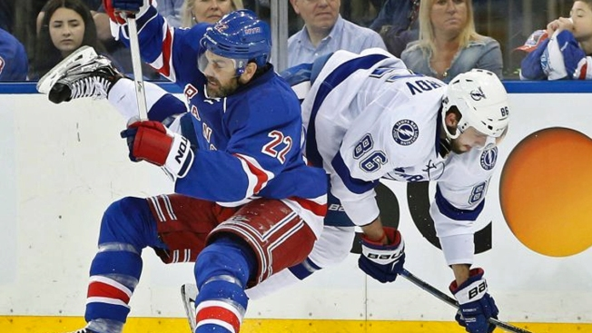 Rangers Take Game 1 Against Lightning with 2-1 Win