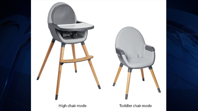 About 7,900 High Chairs in US Recalled Due to Fall Hazard