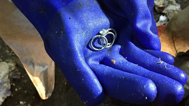 Sanitation Workers Reunite NYC Woman With Lost Rings