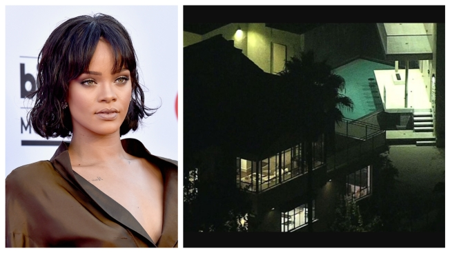 Burglary at Los Angeles Home Owned by Rihanna