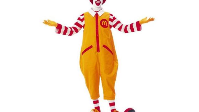 Ronald McDonald to Keep Low Profile Amid Creepy Clown Sightings