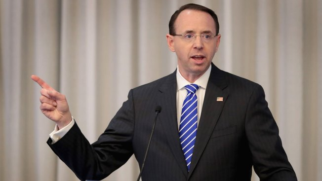 Rosenstein Blasts GOP Impeachment Threat Against Him as Extortion