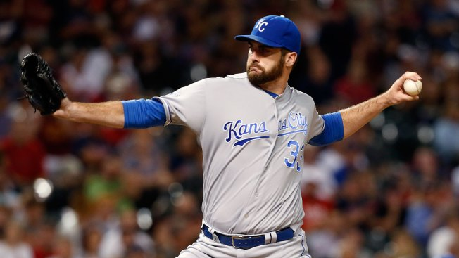 Royals Reliever Flynn to Miss 8 Weeks After Falling Through Barn Roof