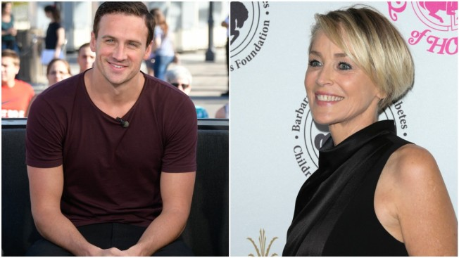 Ryan Lochte to Co-Star in New Sharon Stone Film