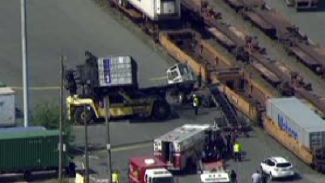 NJ Worker Crushed to Death by Freight Container