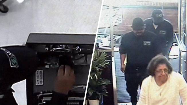 Crooks Dress As Repairmen Install Skimmers On Atms On Long Island Police Nbc New York