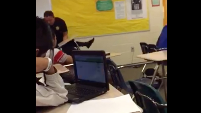 Experts: S.C. School Officer's Actions 'Over the Line'