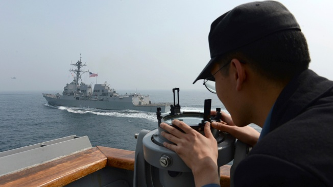 Japan, US test anti-missile ships during joint military exercises
