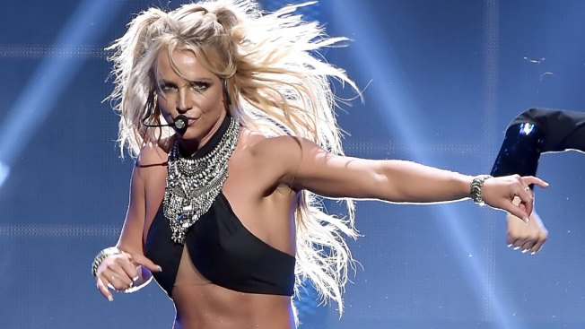 Britney Spears Appears Shaken After Fan Crashes Stage at Las Vegas Concert