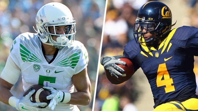 Football Stars Devon Allen, Jahvid Best Head From the Gridiron to the Games