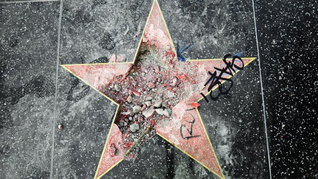 Man Sentenced for Smashing Trump's Hollywood Star With Ax