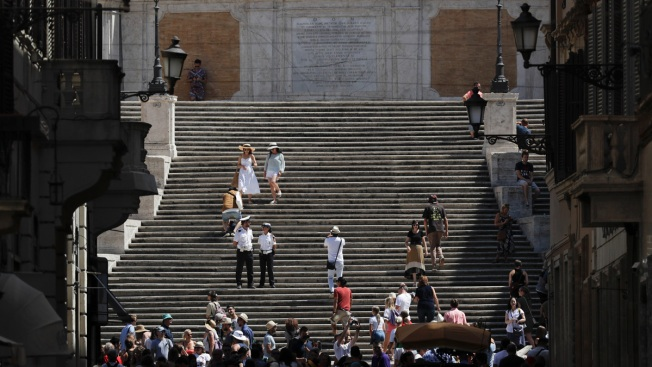 'Roman Holiday' Ruined? Police Enforce Sitting Ban on Steps Audrey Hepburn Made Famous