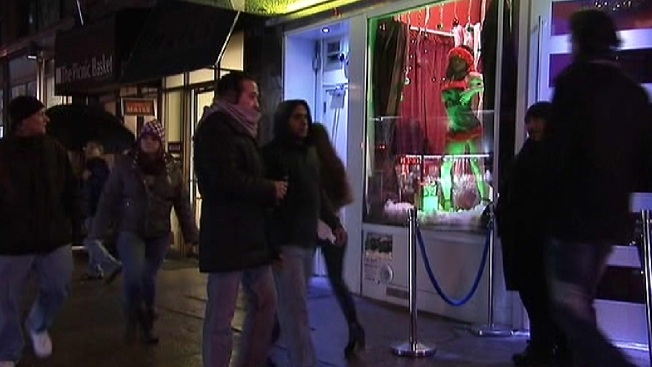 Racy Midtown Strip Club Holiday Display Stirs Controversy
