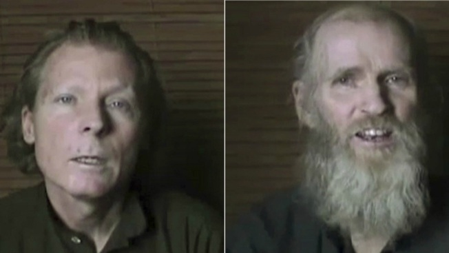 Taliban Release Video of American and Australian Hostages