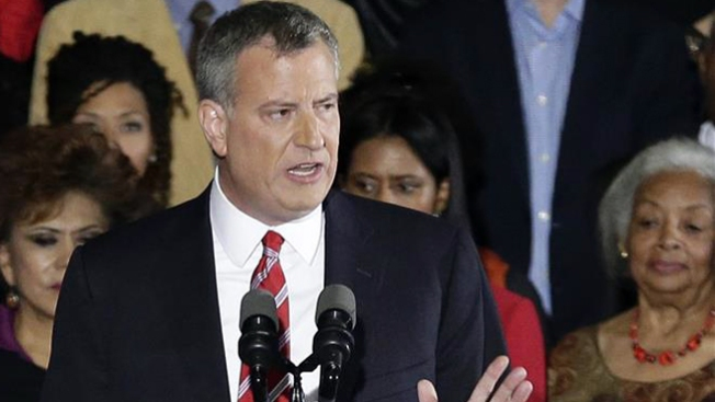 Poll: De Blasio's Approval Holds Steady