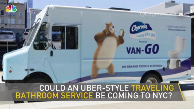 Need To Go? Hereu0027s An Uber Style Toilet Van