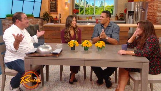 Former NFL Star Tony Gonzalez Puts His Tastebuds To The Test on 'Rachael'