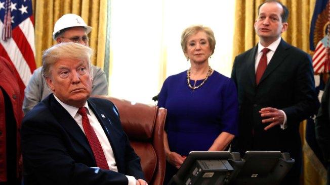 Trump Defends Acosta But Will Look Into Epstein Plea Deal; Calls Grow for Labor Secretary's Resignation