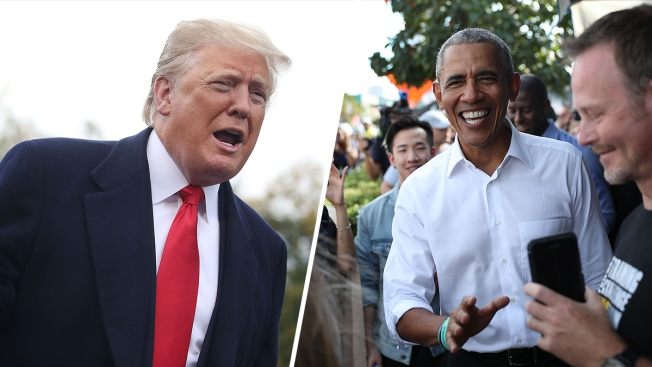 Trump vs. Obama in the Final Weekend of the Midterms