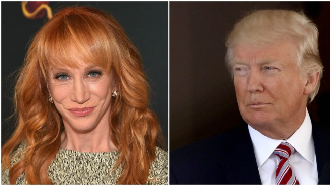 Kathy Griffin Apologizes For Controversial Video Of Bloody Head Of Trump Lookalike