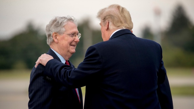 Trump Praises McConnell's Role in Battle Over Kavanaugh