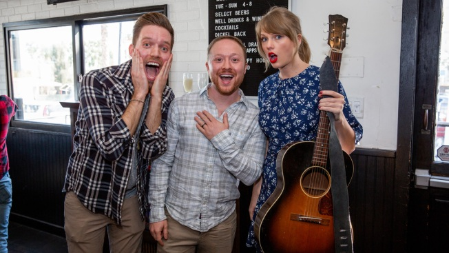Taylor Swift Helps Fan Surprise Boyfriend with Proposal