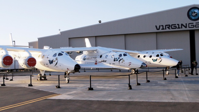 2nd Powered Test Flight for Virgin Galactic Spaceship