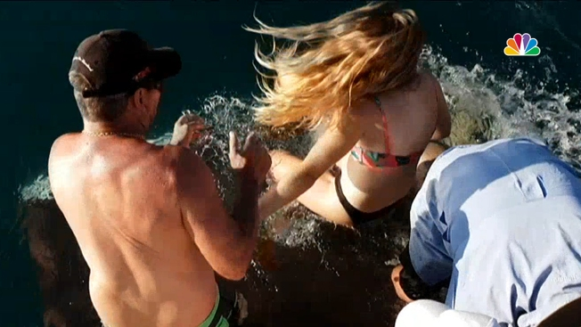 Video Shows Shark Drag Woman Off Boat in Australia