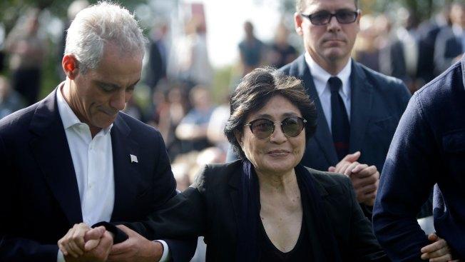 Yoko Ono Calls for Peace on Anniversary of Lennon's Death