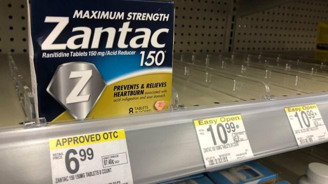 Heartburn Drug Recall Expands as Sanofi Recalls Brand-Name Zantac OTC