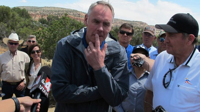Interior Secretary Questions Using Monument Status to Save Sacred Land