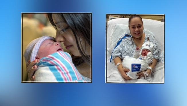 It's a Tie: 2 Newborns Share Title of NYC's First Baby of 2016