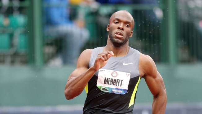Merritt Wins 400m for Chance to Defend Gold in London