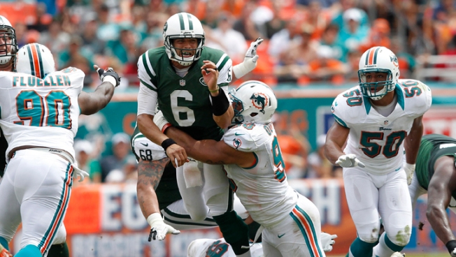 Jets Win Ugly Overtime Game in Miami