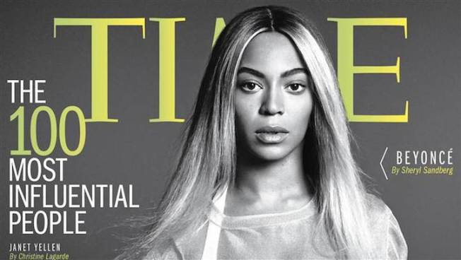 Beyonce Covers Time Magazine's 100 Most Influential People 2014 Issue