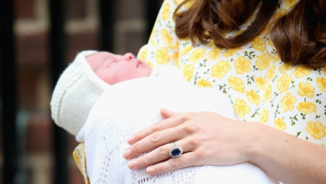 Britain's Princess Charlotte to Be Christened Next Month