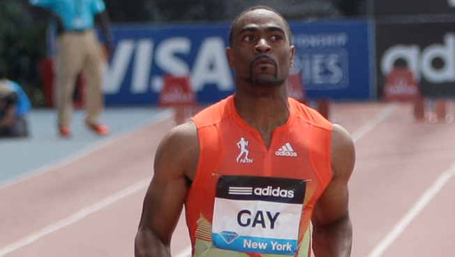 Tyson Gay Pain Free After Race in Adidas Grand Prix