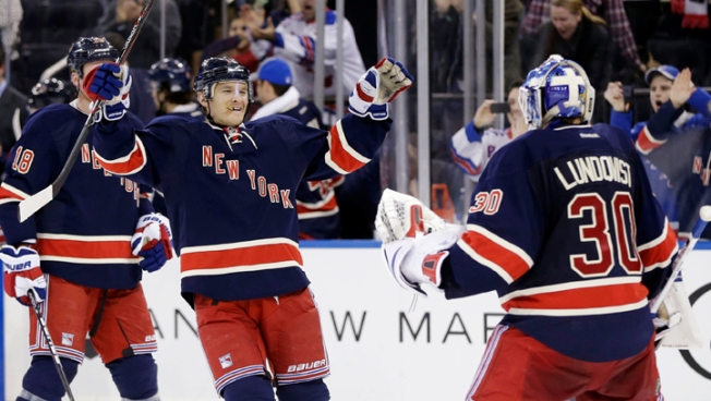 Rangers Slip Past Sabres in Shootout 3-2