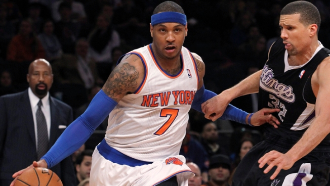 Stoudemire 10 for 10, Knicks Crush Kings 120-81