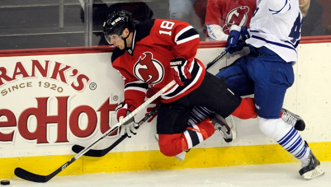 Devils Lose Sixth in a Row, Fall to Leafs 2-1