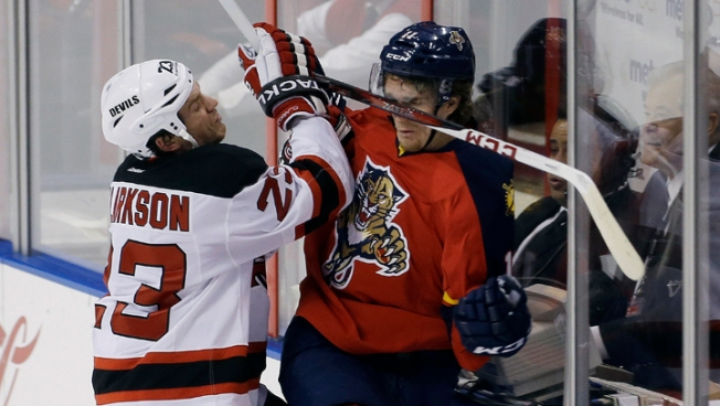 Panthers Slip Past Devils 3-2 in OT
