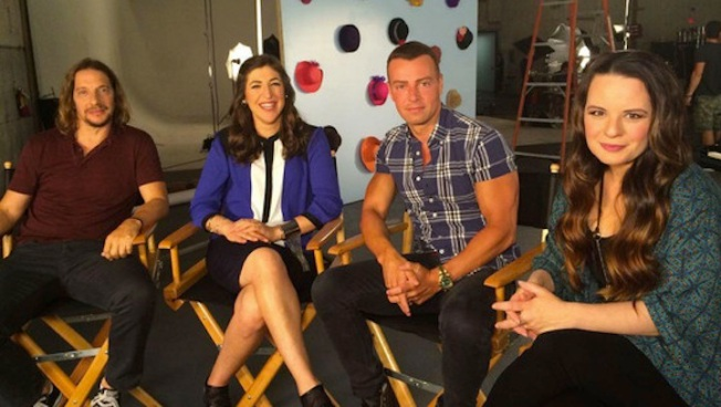 """Blossom"" Reunion: See Mayim Bialik, Joey Lawrence, Jenna von O and Michael Stoyanov Together Again"