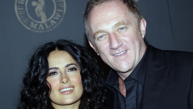 Salma Hayek Marries Really Rich French Guy