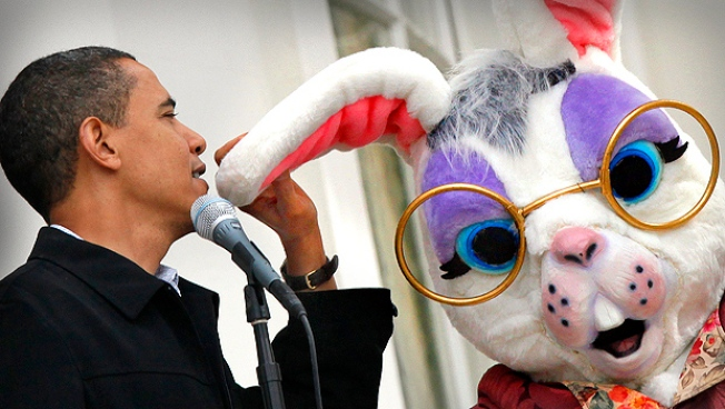 White House Easter Bunny Fesses Up: I'm A Republican