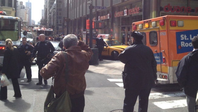 Taxi Hits 2 Midtown Pedestrians; Patients Stable