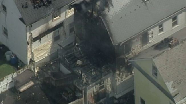 Woman Rescued From Burning New Jersey Building