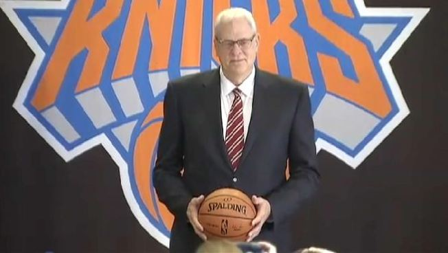"Phil Jackson Joins the Knicks, Says ""We Have a Great Chance"""