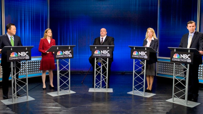 Conn. Senate Debate Descends into Name-Calling